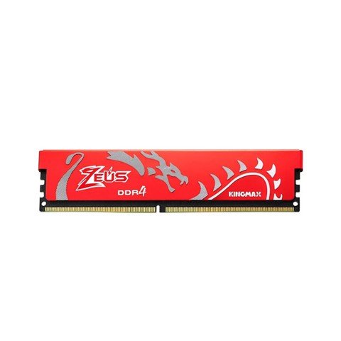 Ram Desktop Kingmax Zeus Dragon Red (GLAG43F-18K8IP) Red 8G (1x8GB) DDR4 2666Mhz