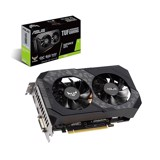 Card màn hình ASUS TUF GTX 1660-6G GAMING (6GB GDDR6, 192-bit, DVI+HDMI+DP, 1x8-pin)