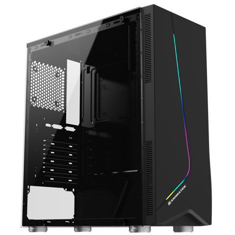 Vỏ Case XIGMATEK EROS (EN43361) - RGB STRIP, GAMING ATX