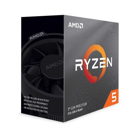 CPU AMD Ryzen 5 3500X (3.6GHz turbo up to 4.1GHz, 6 nhân 6 luồng, 32MB Cache, 65W) - Socket AMD AM4