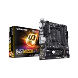 Mainboard GIGABYTE B450M-DS3H (AMD B450, Socket AM4, m-ATX, 4 khe RAM DDR4)