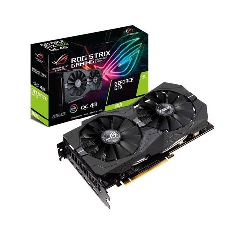 Card màn hình ASUS ROG TRIX GTX 1650 Super-4G GAMING (4GB GDDR6, 128-bit, HDMI+DP, 1x6-pin)