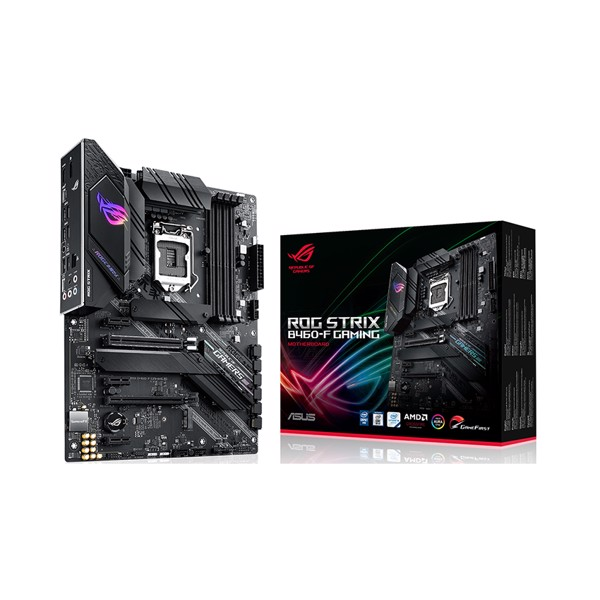 Mainboard ASUS ROG STRIX B460-F GAMING (Intel B460, Socket 1200, ATX, 4 khe Ram DDR4)