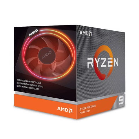CPU AMD Ryzen 9 3900X (3.8GHz turbo up to 4.6GHz, 12 nhân 24 luồng, 64MB Cache, 105W) - Socket AMD AM4