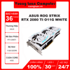 Card màn hình ASUS ROG STRIX RTX 2080 Ti-O11G WHITE (11GB GDDR6, 352-bit, HDMI+DP+Type-C, 2x8-pin)