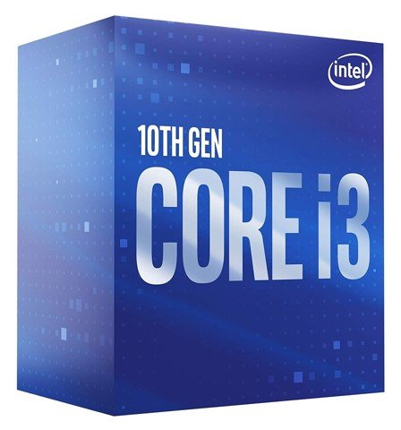 CPU Intel Core i3 10100F (3.6GHz turbo up to 4.3Ghz, 4 nhân 8 luồng, 6MB Cache, 65W) - Socket Intel LGA 1200