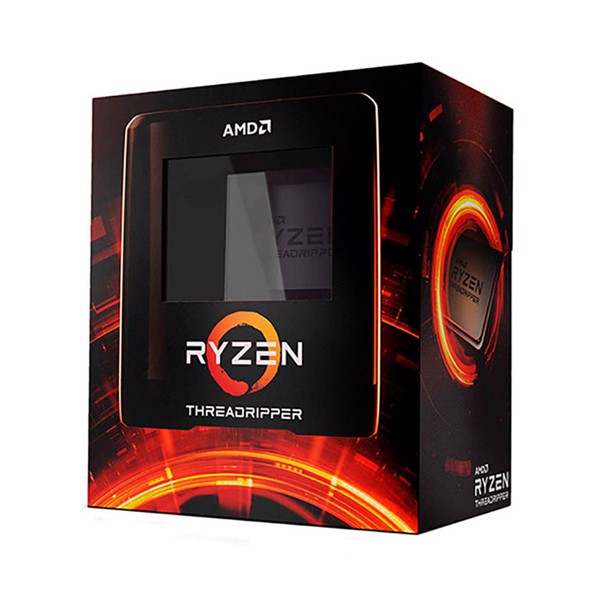 CPU AMD Ryzen Threadripper 3970X (3.7GHz turbo up to 4.5GHz, 32 nhân 64 luồng, 144MB Cache, 280W) - Socket sTRX4