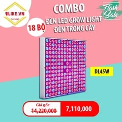 Combo 18 bóng LED grow light 45W