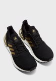 "Adidas Ultraboost 20 ""Core Black/Gold"" EE4393"