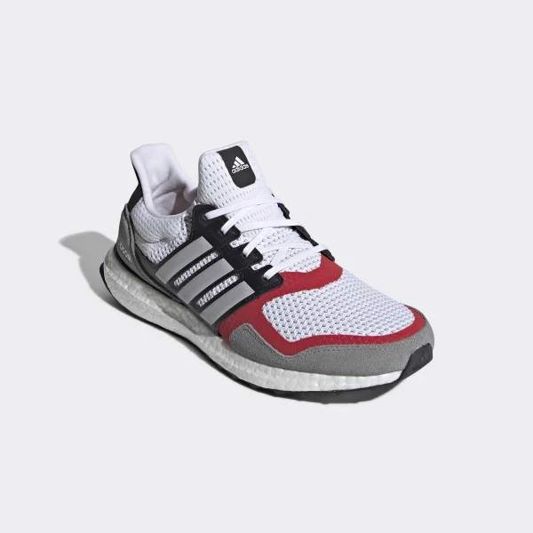 "Adidas Ultraboost S&L ""White/Scarlet"" EF2027"