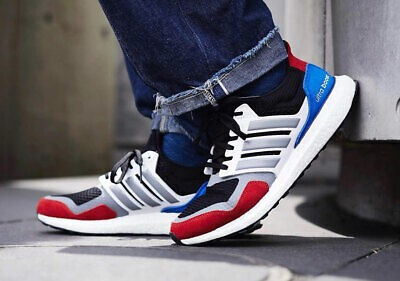 "Adidas Ultraboost S&L ""White/Red/Blue"" EF1360"