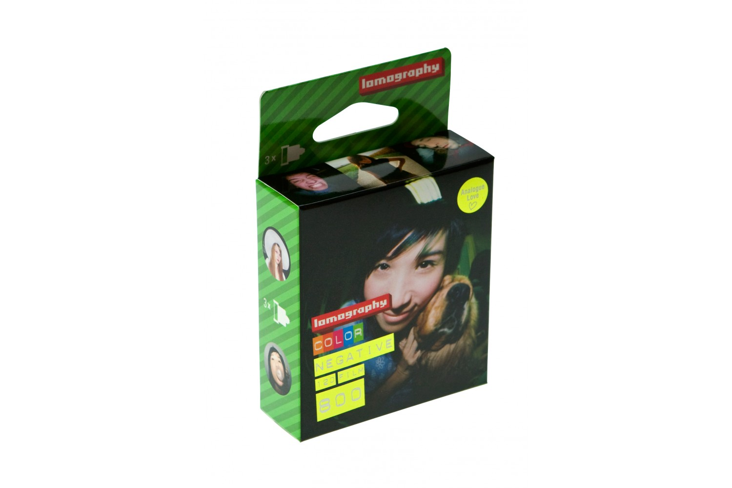Lomography Color Negative 800/120 3pcs