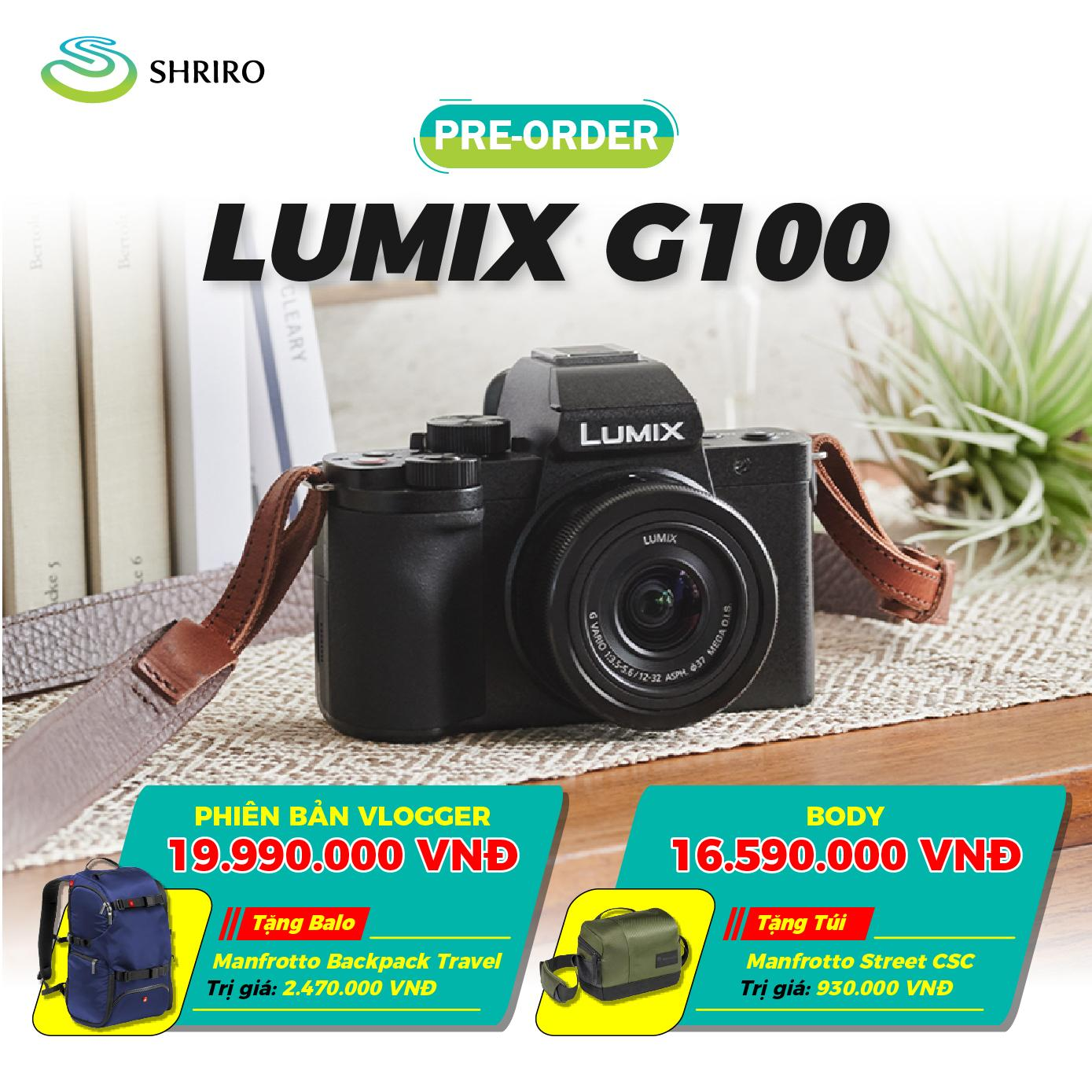 Panasonic Lumix G100 Kit