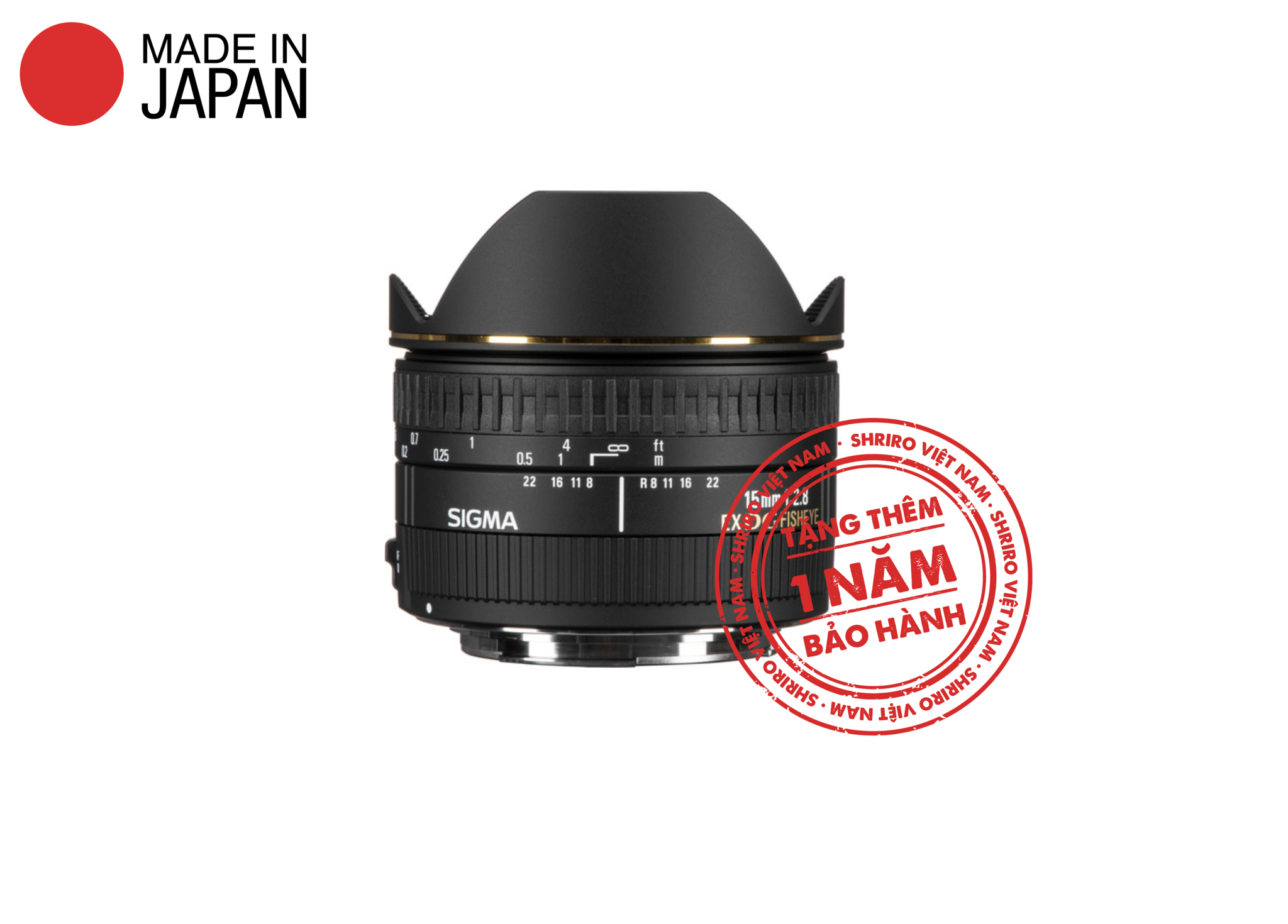 SIGMA 15mm f/2.8 EX DG Fisheye Diagonal