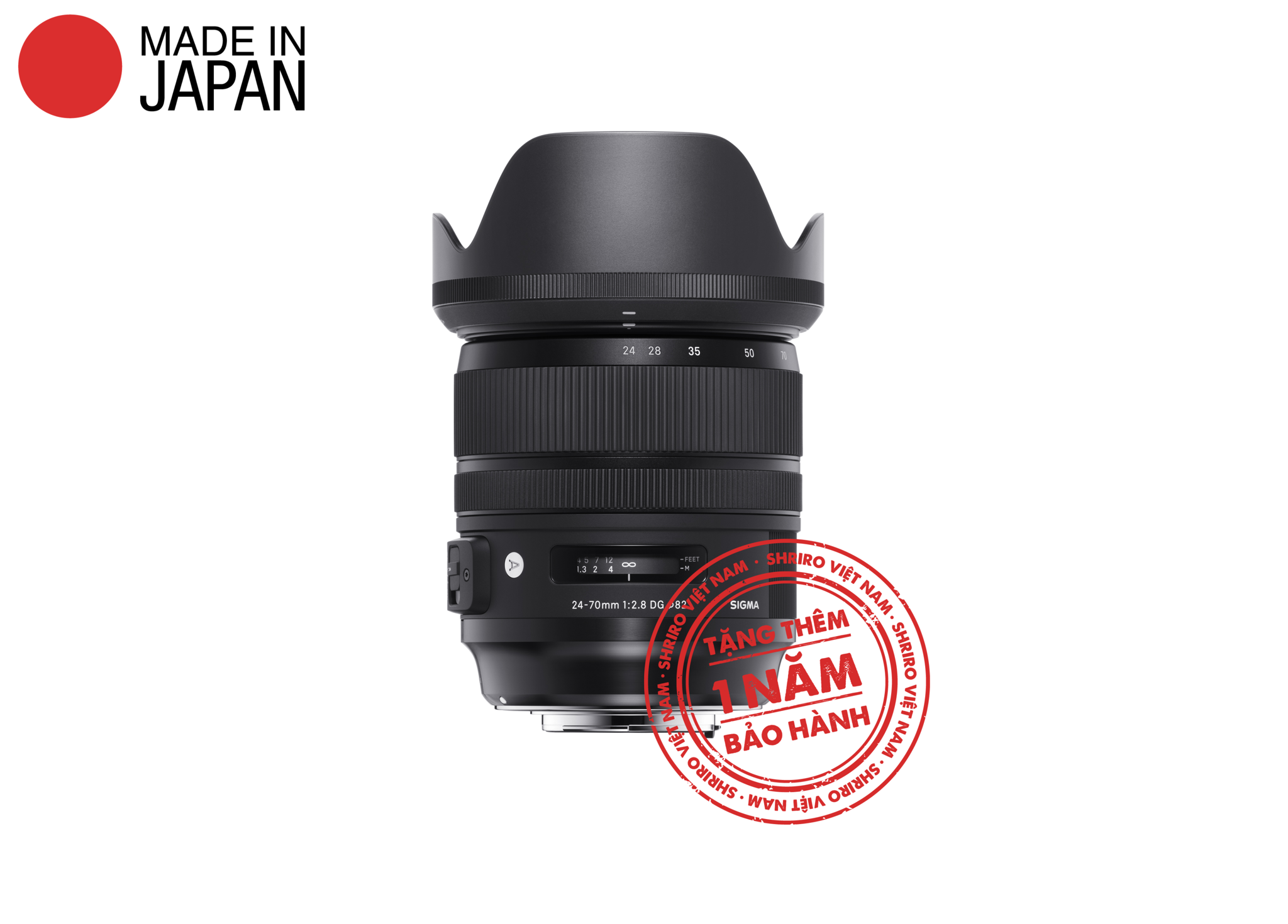 Sigma 24-70mm F2.8 DG OS HSM (Art) (For DSLR)