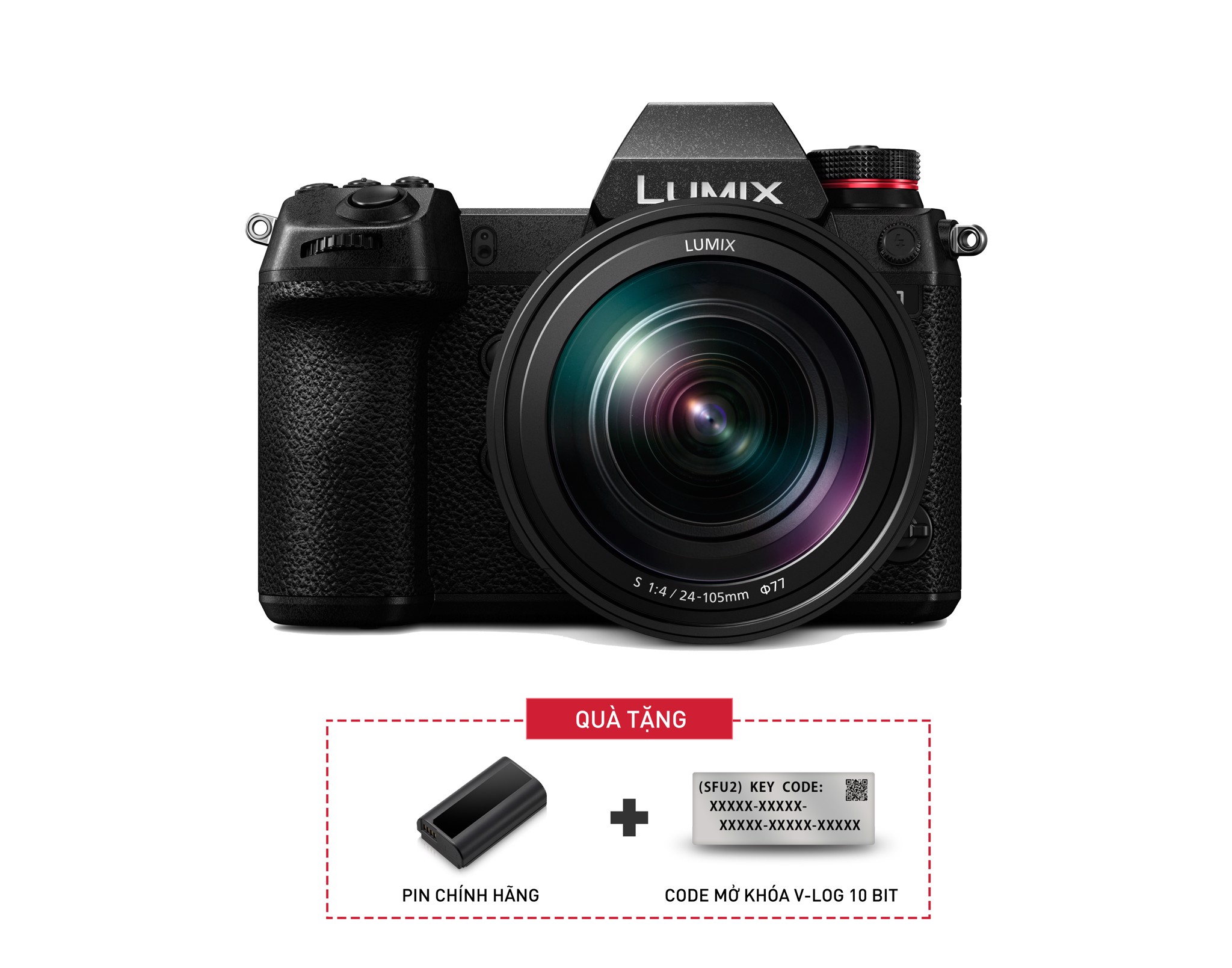 Lumix S1 kit 24-105mm F4