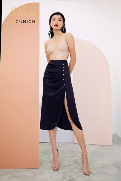 Beautiful Melody Midi Skirt