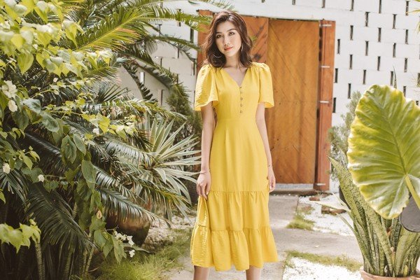 Chasing Sunshine Midi Dress