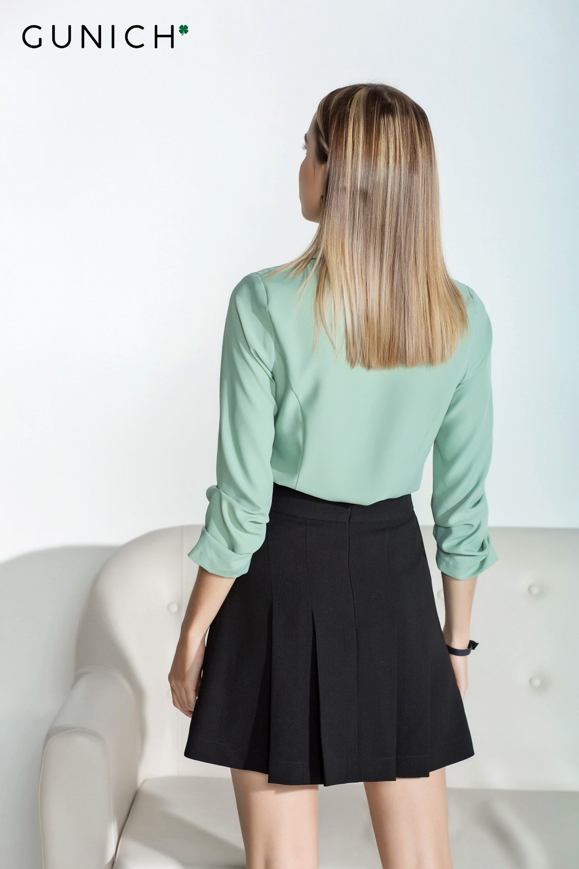Madelyn Mint Blouse