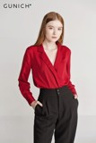 Charlotte Red Wine Blouse