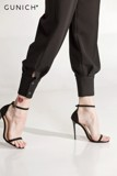 Francesca Black Jogger Pants