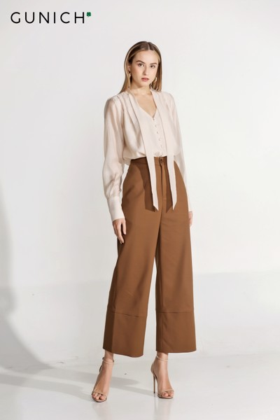 Gianna Camel Brown Pants