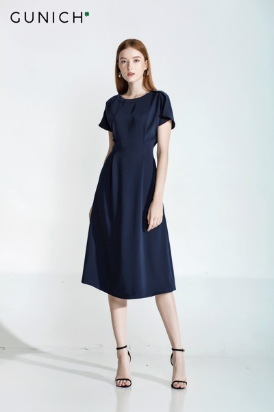 Courtney Navy Blue Dress