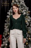 Style Forecast Midnight Green Top