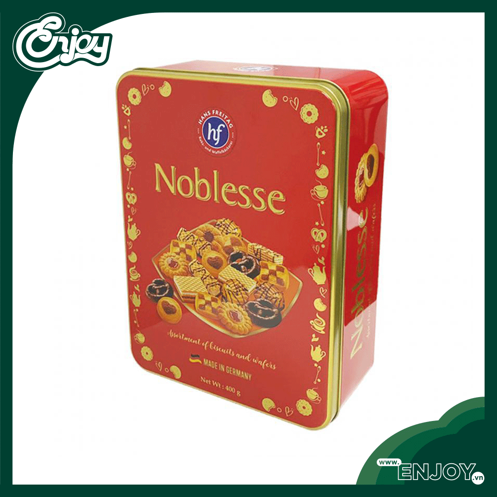 Bánh Xốp Chocolate Hans Freitag Noblesse / Desiree Hộp Thiếc 400gr