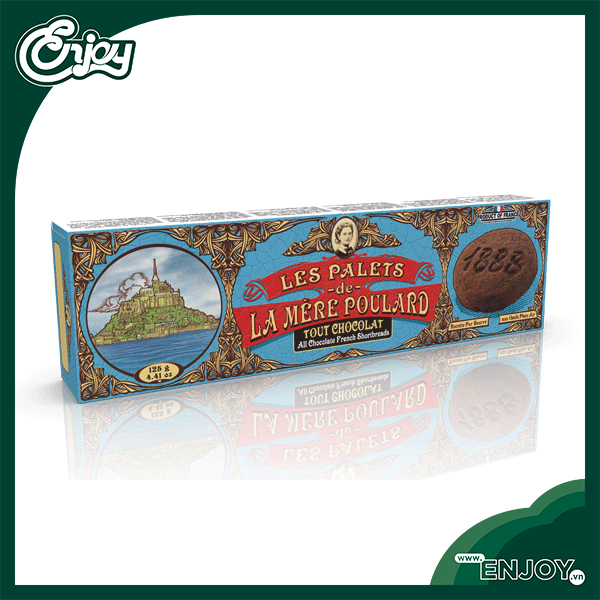 Bánh Quy Palets - French Shortbreads 125g - La Mere Poulard