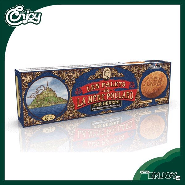 banh quy palets french shortbreads 125g