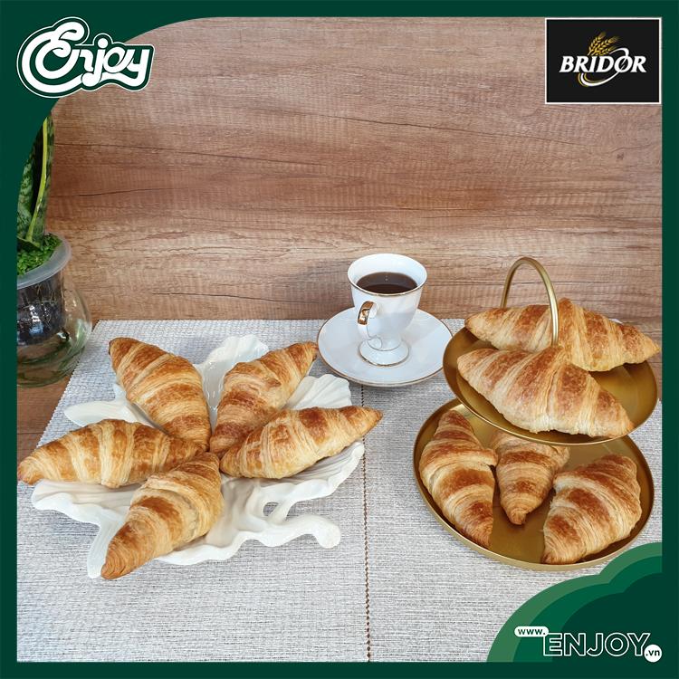Nhân bản từ Bánh Sừng Trâu Pháp Bridor Croissant  #CR10
