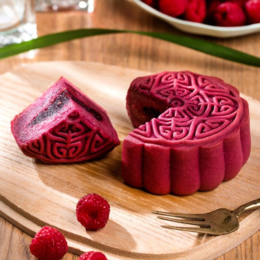 Bánh Trung Thu Givral Raspberry (Không Trứng) 150gr