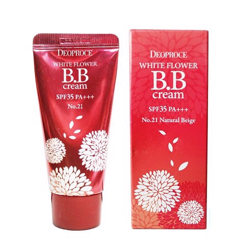 Kem nền BB Cream DEOPROCE White Flower BB Cream SPF35 PA+++