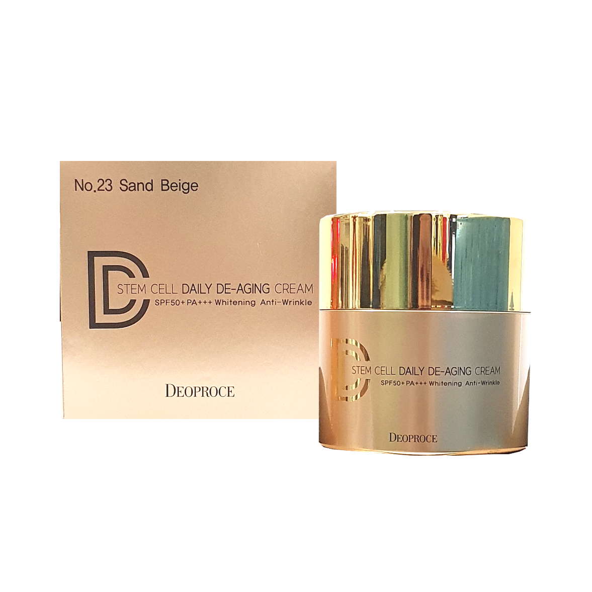Kem nền DD Cream 3 trong 1 DEOPROCE Stem Cell Daily De-Aging DD Cream