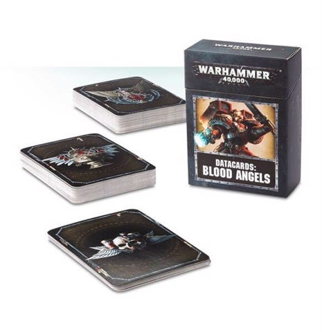 DATACARDS: BLOOD ANGELS (ENGLISH)