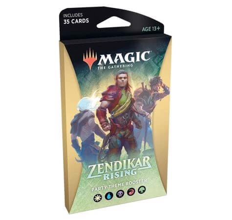 MAGIC THE GATHERING: ZENDIKAR RISING: THEME BOOSTER - PARTY