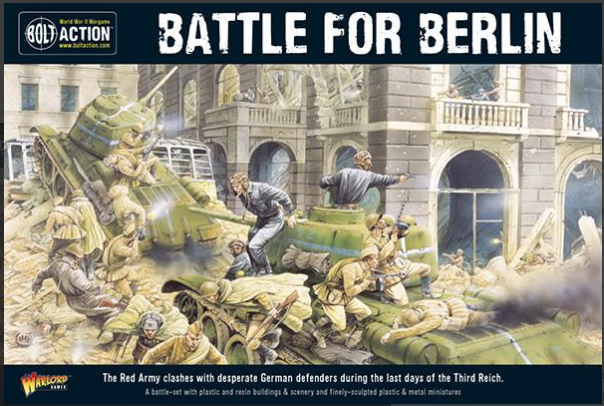 The Battle for Berlin battle - Set