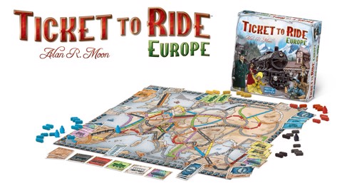 TICKET TO RIDE - EUROPE (BOARD GAME)