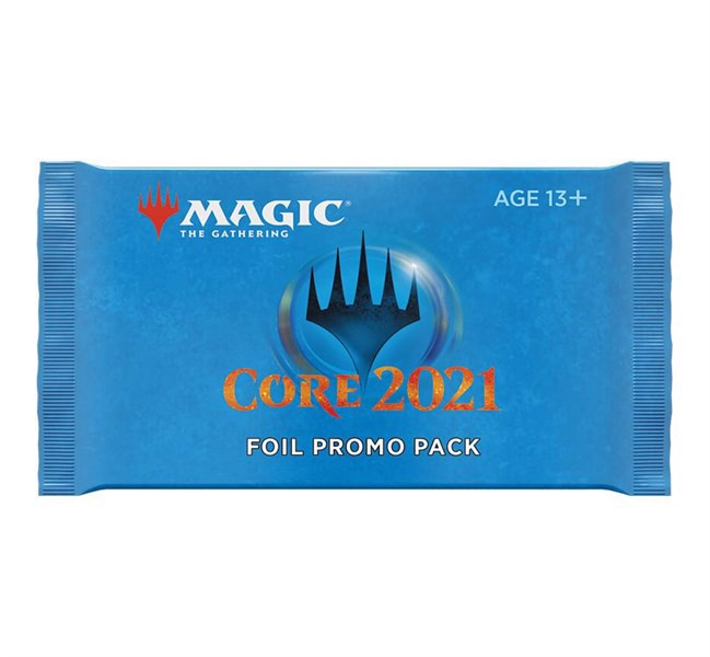 MAGIC THE GATHERING: CORE 2021 FOIL PROMO PACK