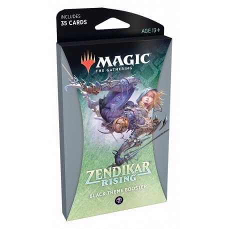 MAGIC THE GATHERING: ZENDIKAR RISING: THEME BOOSTER - BLACK