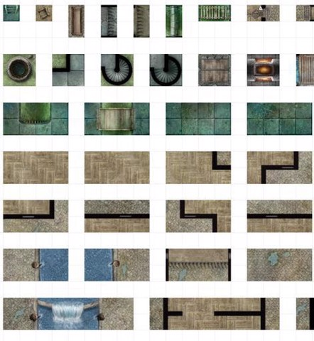 DUNGEONS AND DRAGONS: DUNGEON TILES REINCARNATED - CITY