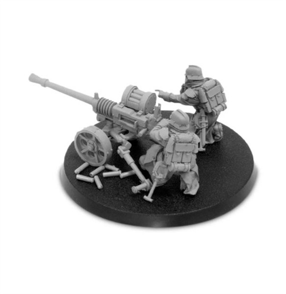 DEATH KORPS OF KRIEG AUTOCANNON TEAM (FORGEWORLD)