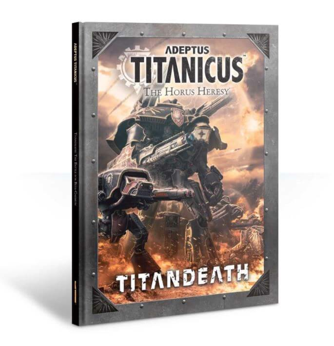 ADEPTUS TITANICUS: THE HORUS HERESY – TITANDEATH CAMPAIGN BOOK (EXCLUSIVE)