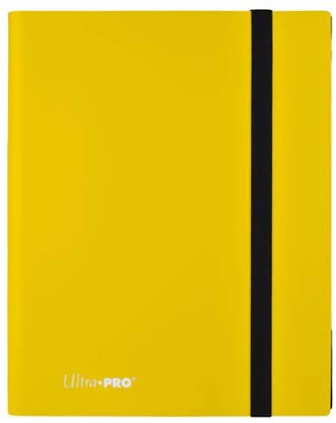 ULTRA PRO: ECLIPSE PRO-BINDER 9-POCKET: LEMON YELLOW