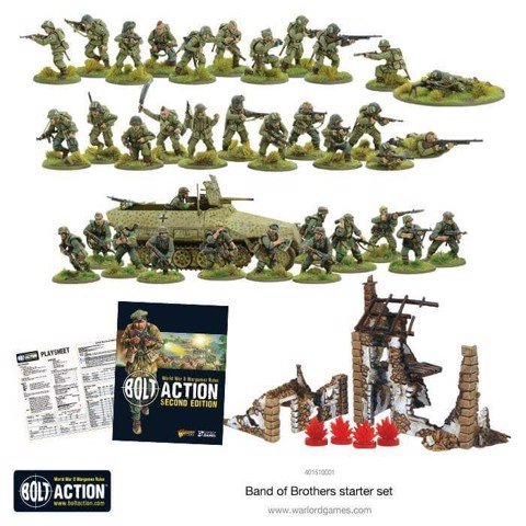 BOLT ACTION 2 STARTER SET ''BAND OF BROTHERS''