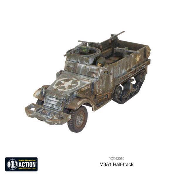 US INFANTRY HALFTRACK TRANSPORT