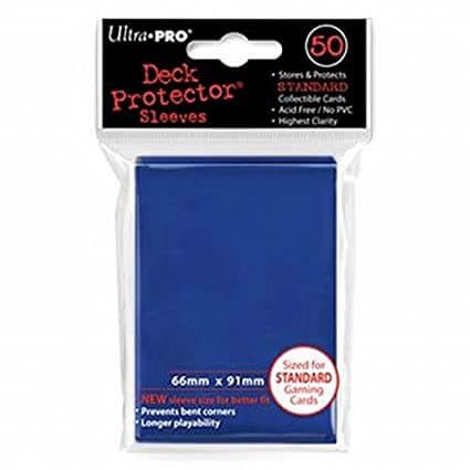 ULTRA PRO: SOLID DECK PROTECTOR 100CT - BLUE 82692