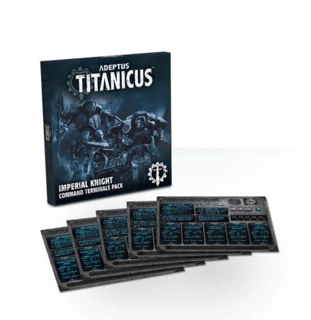 ADEPTUS TITANICUS IMPERIAL KNIGHT COMMAND TERMINALS PACK (EXCLUSIVE)