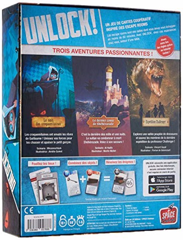 Unlock! Exotic Adventures (BOARD GAME)